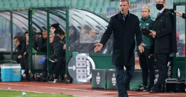 Старши треньорът на ЦСКА Стойчо Младенов предяви претенции за няколко