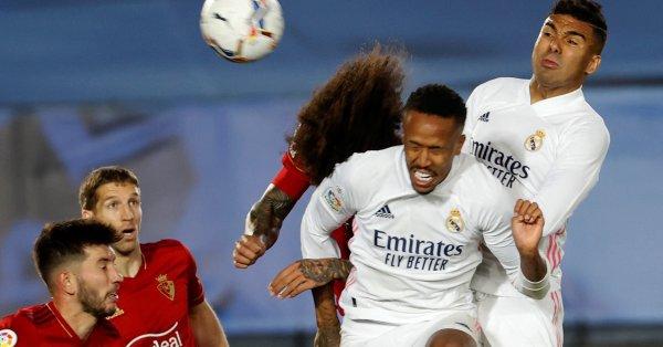 Реал Мадрид победи с 2:0 Осасуна и се доближи само