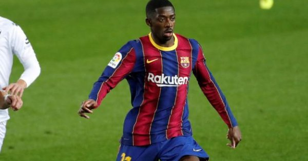 Барселона ще предложи нов договор на нападателя Усман Дембеле до