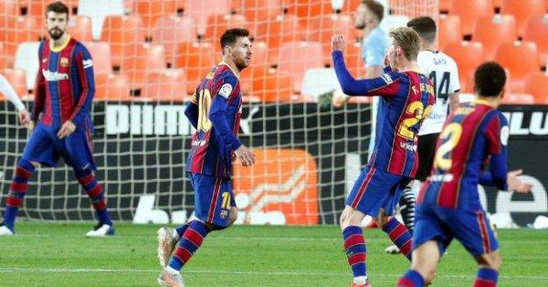 Барселона – Атлетико Мадрид, среща от Примера Дивисион на Испания,