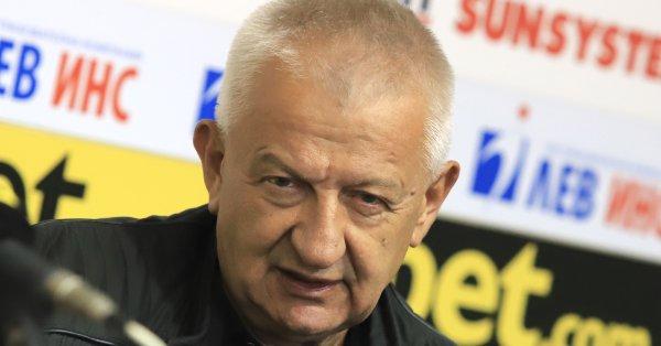 Президентът на Локомотив Пловдив Христо Крушарски обяви, че лицензът на