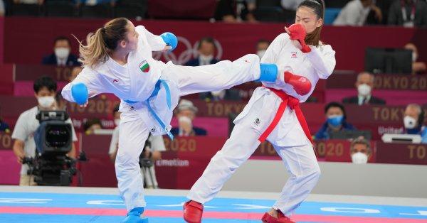 Първата в историята българска представителка в карате на олимпийски игри