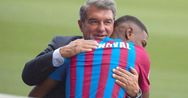Босът на Барселона Жоан Лапорта сподели, че се работи усилено