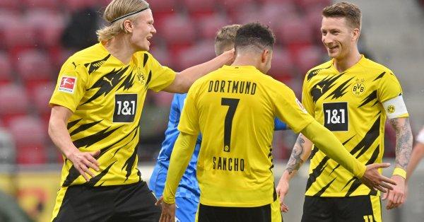 Борусия Дортмунд победи Майнц с 3:1като гост в среща от