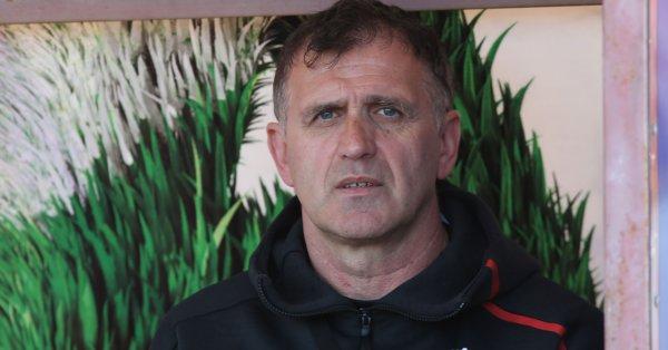 Вече бившият треньор на ЦСКА Бруно Акрапович, говори за предаването