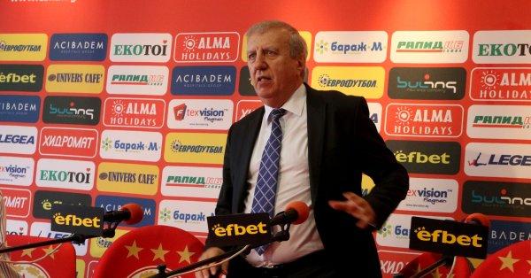 Бившият президент на ЦСКА Александър Томов коментира ситуацията в Левски,