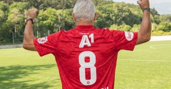 Легендата на българския футбол Христо Стоичков не пропусна да подкрепи