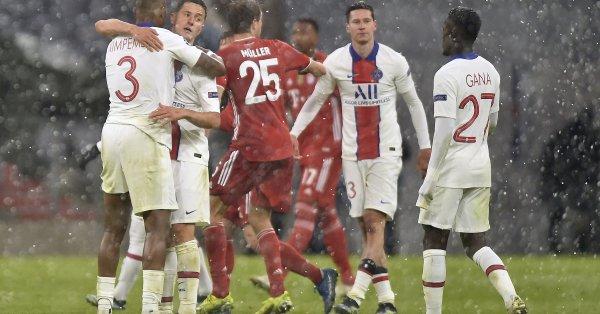 ПСЖ - Байерн Мюнхен, четвъртфинален мач-реванш на Шампионската лига. Стадион