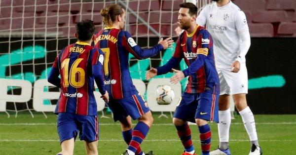 Барселона - Валядолид, мач от 29-ия кръг на испанската Ла