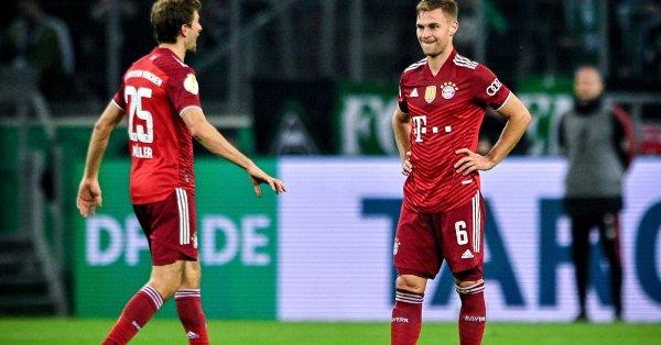 Офанзивният полузащитник на Байерн Мюнхен Томас Мюлер намери сили да