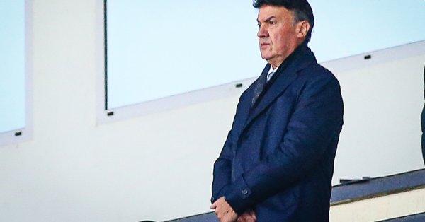Президентът на БФС Борислав Михайлов заяви, че националният отбор на