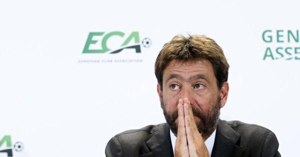 Президентът на италианския шампион Ювентус - Андреа Аниели, отговори на