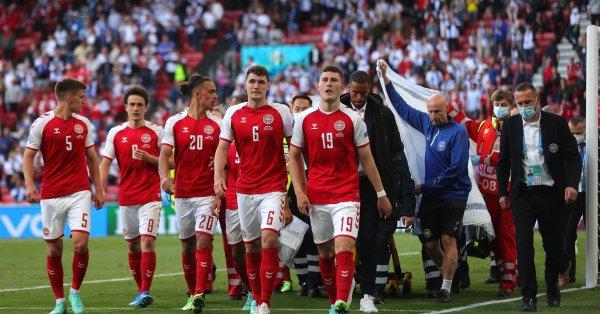 От Датската футболна федерация публикуваха съобщение в социалните мрежи, в