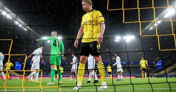 20-годишният Холанд подобри постижение, което принадлежеше на трима футболисти –