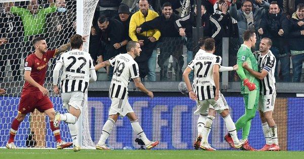 Ювентус записа ценна победа срещу Рома в дербито на 8-ия