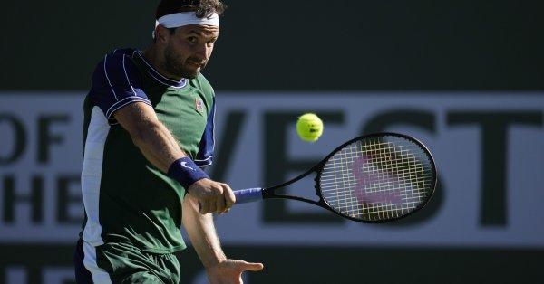 Най-добрият български тенисист Григор Димитров ще има много трудна задача