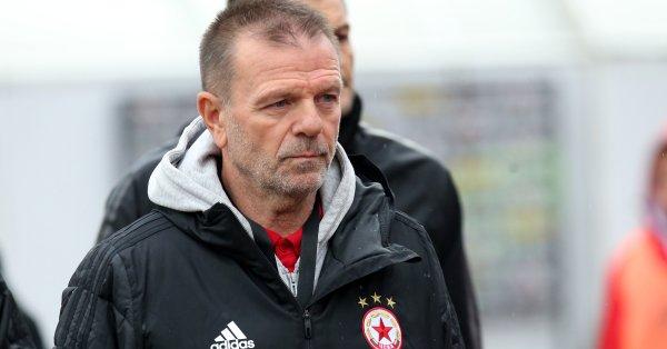 Треньорът на ЦСКА Стойчо Младенов не дели мачовете на по-важни