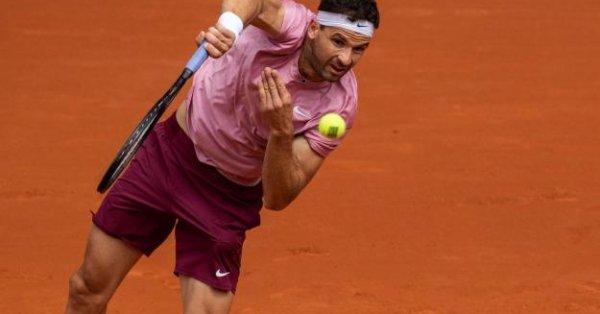 Най-добрият български тенисист Григор Димитров ще се изправи срещу испанеца