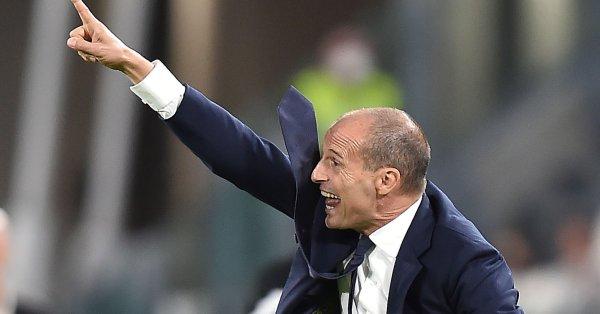 Треньорът на Ювентус Макс Алегри не е никак доволен от