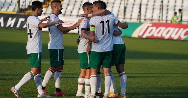 Националният отбор на България до 21 години започна обещаващо евроквалификациите!