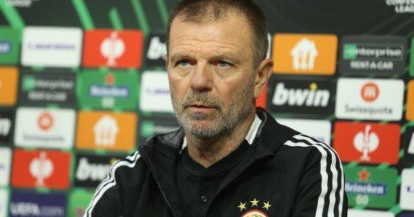 Треньорът на ЦСКА Стойчо Младенов направи силен коментар по отношение