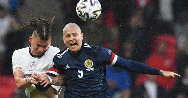 """Шотландия и Англия си врътнаха скучновато 0:0 на """"Уембли"""" в"""
