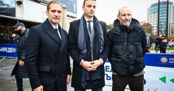 Димитър Бербатов и неговият екип излязоха със седем въпроса към