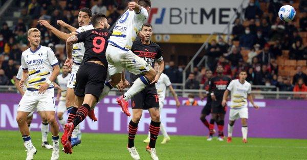 Милан срази с 3:2 Верона в мач от 8-ия кръг