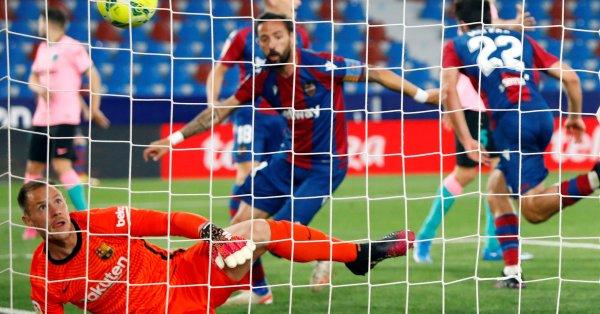 Барселона продължава с неубедителните резултати, след като не успя да